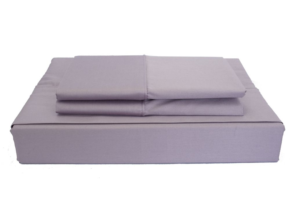 230TC Maxwell Sheet Set, Purple, Queen LSP-001SSPUQ in Canada