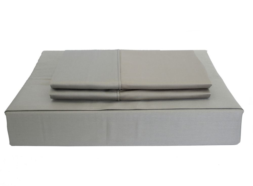 230TC Maxwell Sheet Set, Grey, Queen