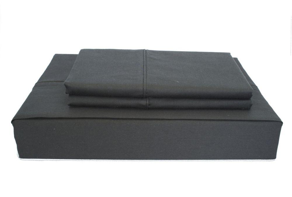 230TC Maxwell Sheet Set, Black, Queen