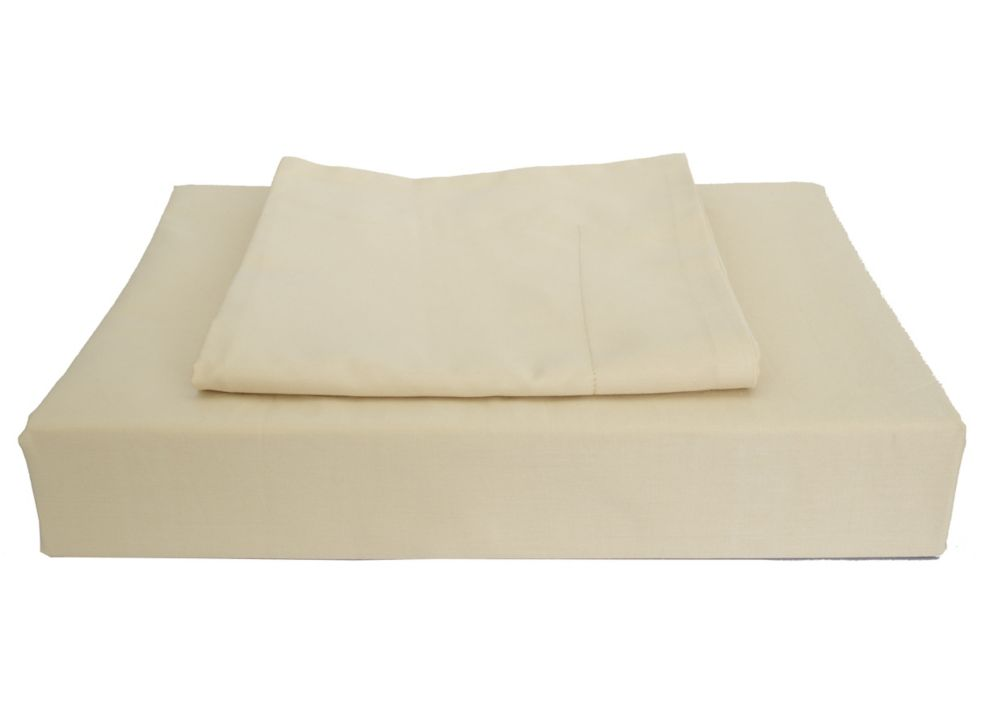 230TC Maxwell Duvet Cover Set, Linen, Double LSP-001DCSLD Canada Discount