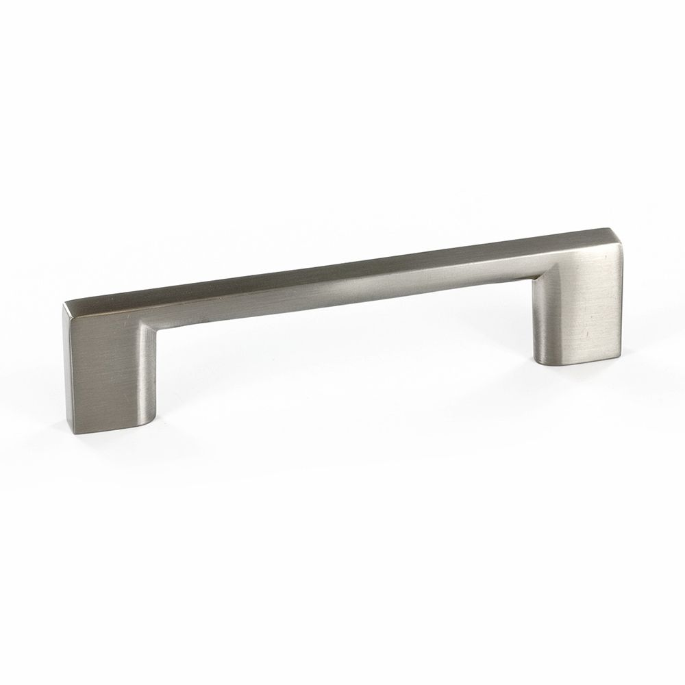 Contemporary metal pull brushed nickel 96 mm c to c bp816096195 canada discount - Contemporary cabinet pulls ...