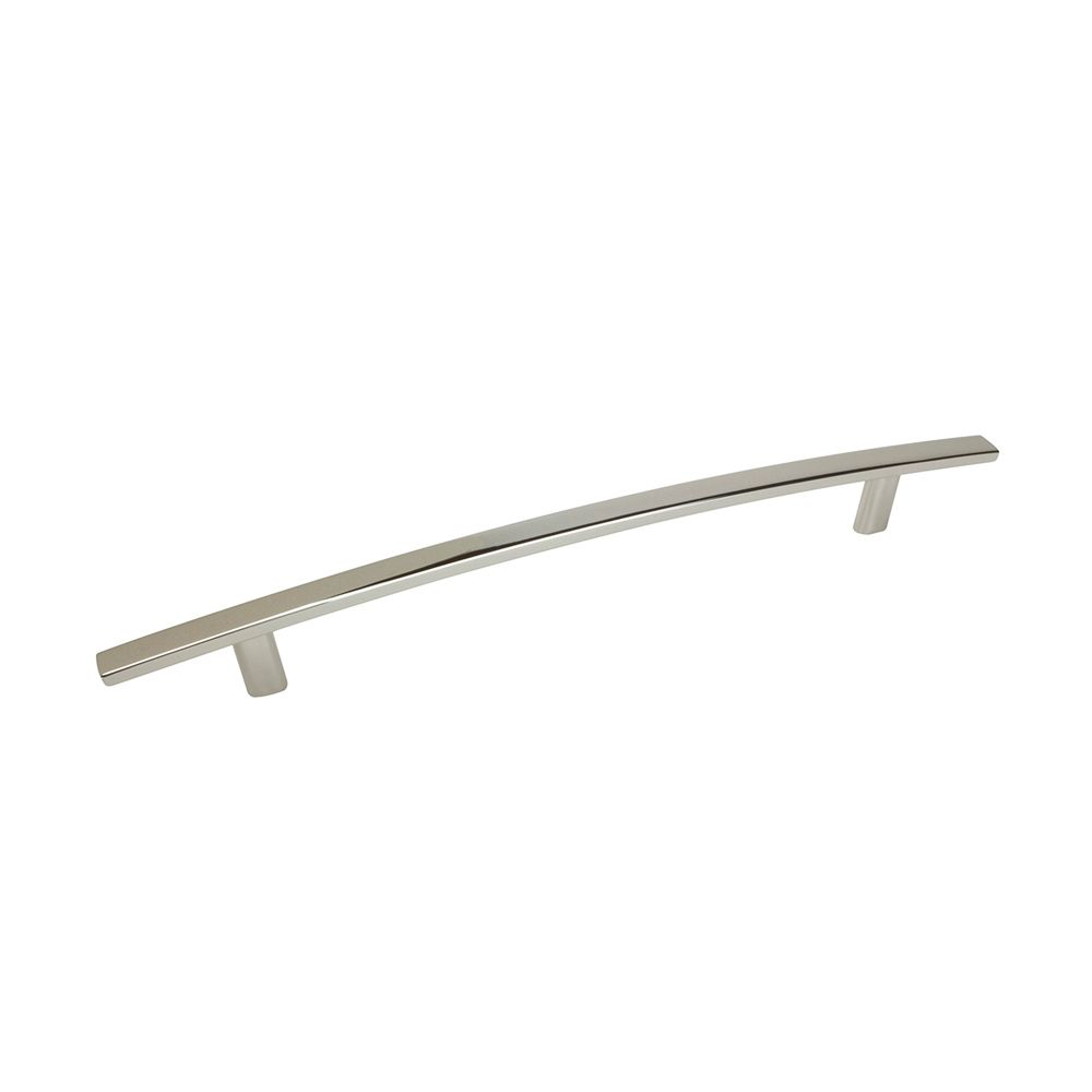 Contemporary Metal Pull - Polished Nickel - 192 Mm C. To C.
