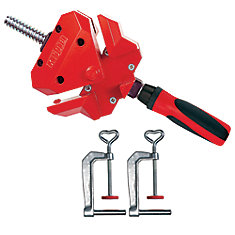 90 Degree Angle Clamp, Single Spindle