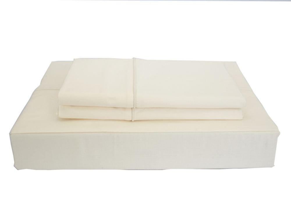 620TC Duncan Sheet Set, Ivory, Double
