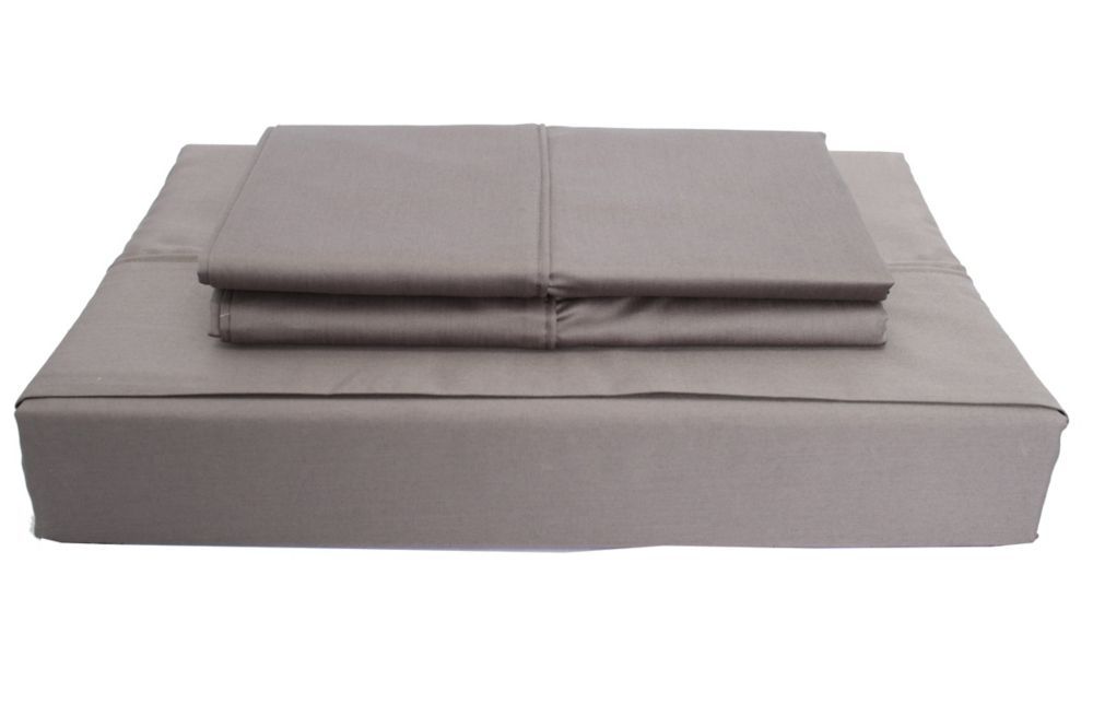 620TC Duncan Sheet Set, Grey, Double