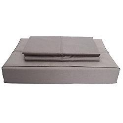 Maholi 620TC Duncan Sheet Set, Grey, Double