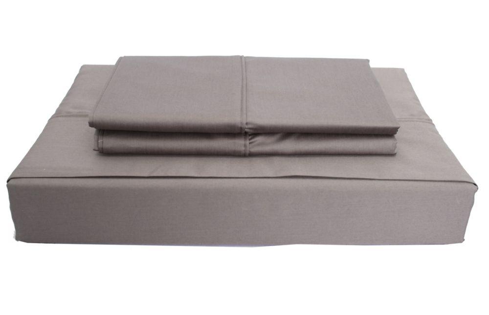 620TC Duncan Sheet Set, Grey, Queen