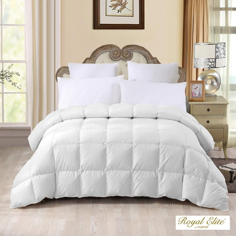 royal elite 400fp couette de duvet 4 saisons grand lit 30 home depot canada. Black Bedroom Furniture Sets. Home Design Ideas