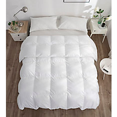 260T White Goose Down Duvet, Summer, Twin20