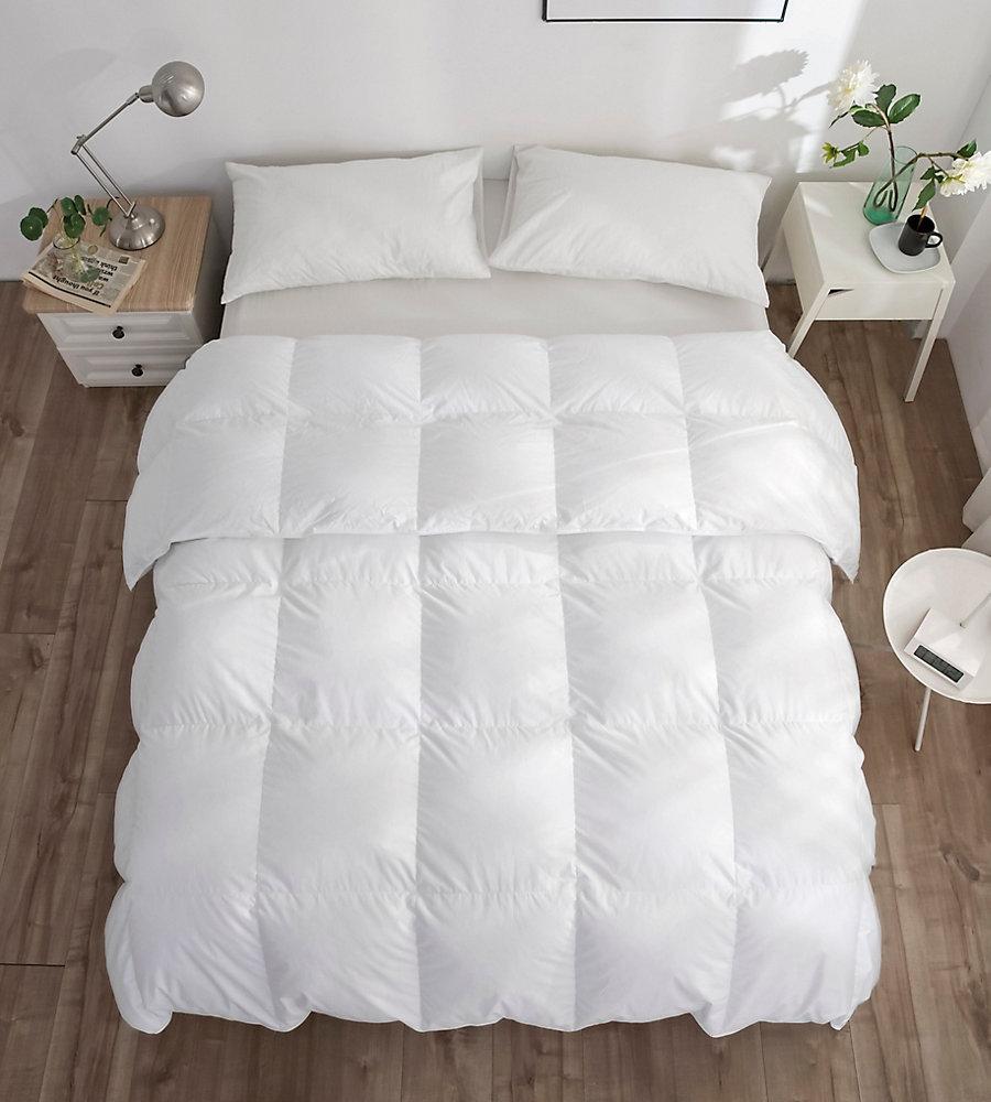 260FP couette de duvet doie blanche, d'été, très grand lit 35