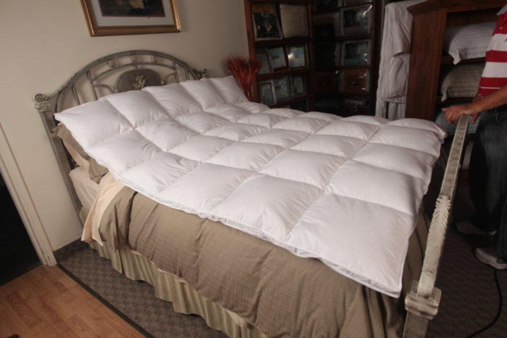 White Goose Featherbed, Queen
