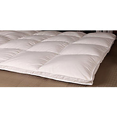 White Goose Downtop Featherbed, Twin