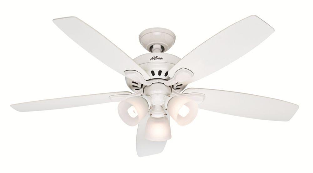 Highbury 52 Inch White Indoor Ceiling Fan