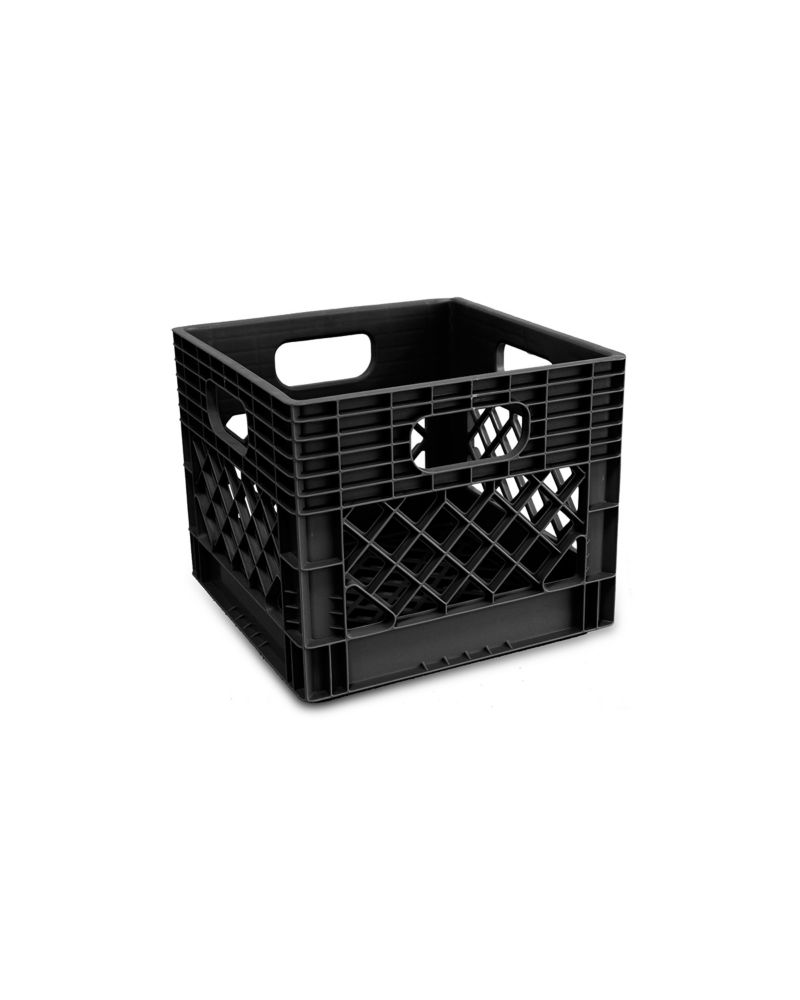 HDX Heavy Duty Milk Crate with Reinforced Handles