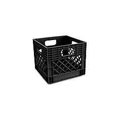 Heavy Duty Milk Crate with Reinforced Handles