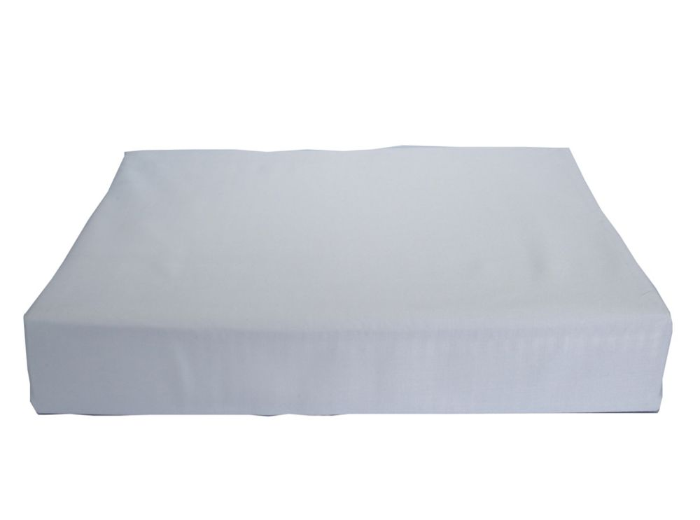 Baby Bamboo Fitted Sheet, Crib, Blue