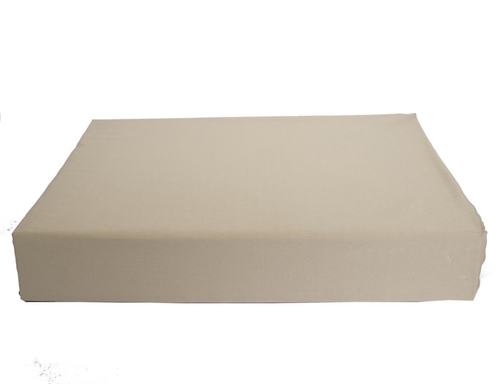 Baby Bamboo Fitted Sheet, Crib, Taupe