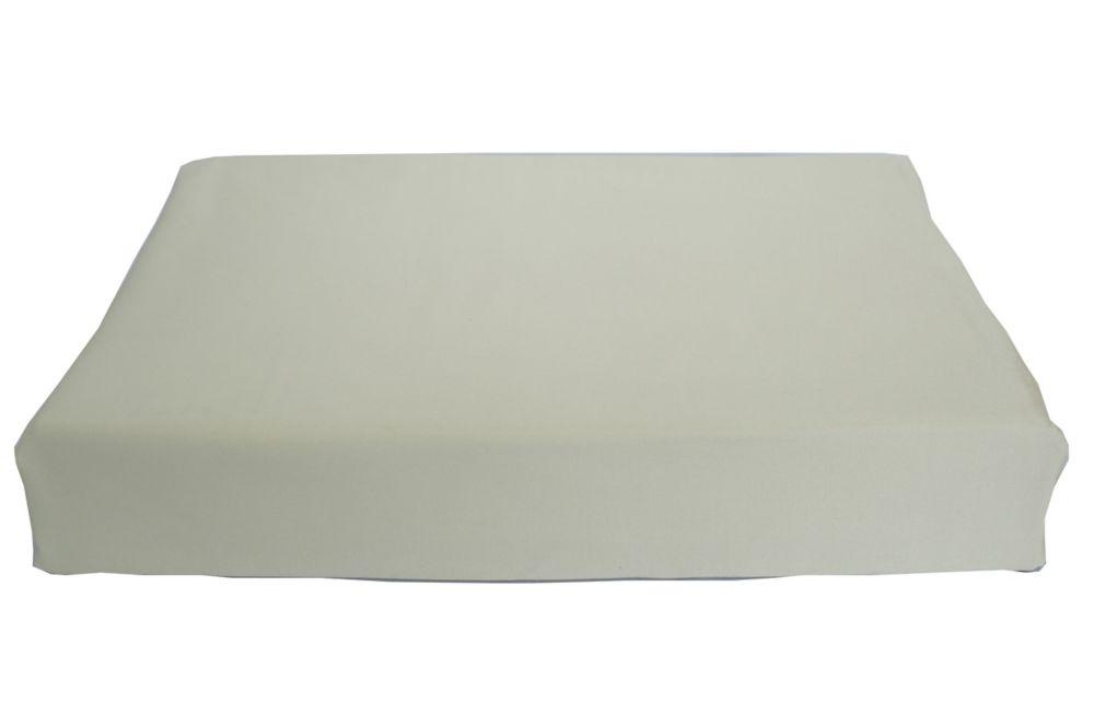 Baby Bamboo Breakfast Cushion, Crib, Sage