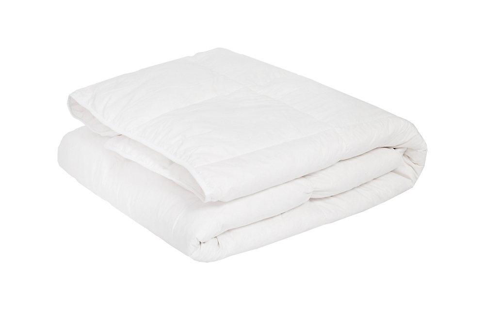 Couette de duvet blanc de format bambin