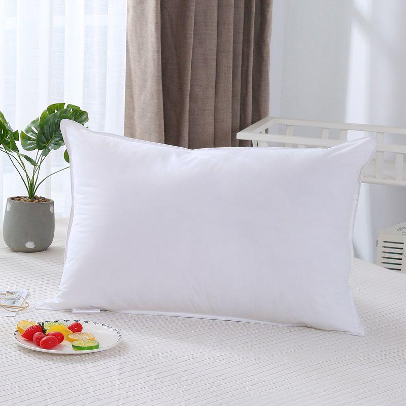oreiller en couches de duvets, format standard