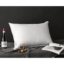 Royal Elite 233TC White Duck Down Pillow, Standard 16 oz.