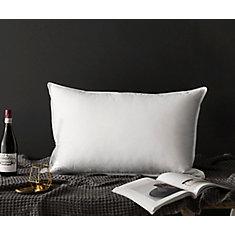 royal elite oreiller de duvet d 39 oie blanc tr s grand24 home depot canada. Black Bedroom Furniture Sets. Home Design Ideas