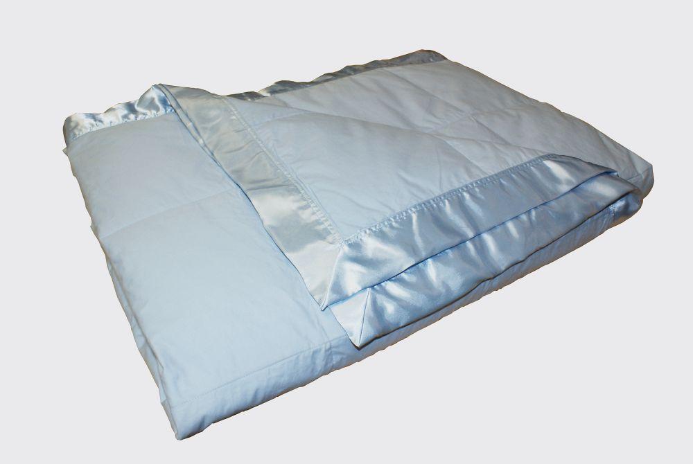 Couverture de duvet, 4 Saisons, grand lit, Blue