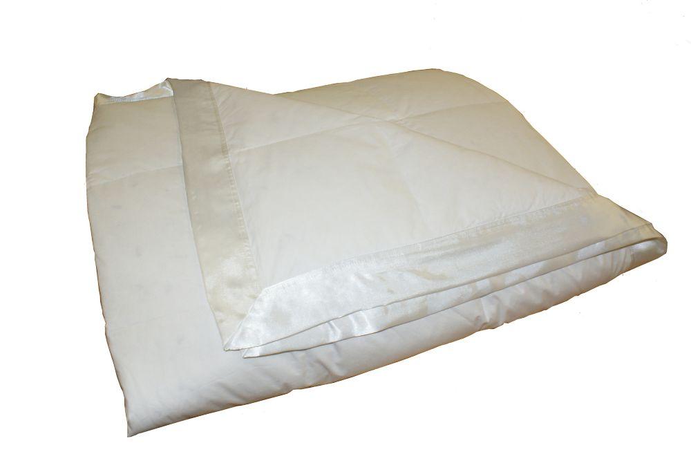 Couverture de duvet, D'hiver, lit 1 place, White