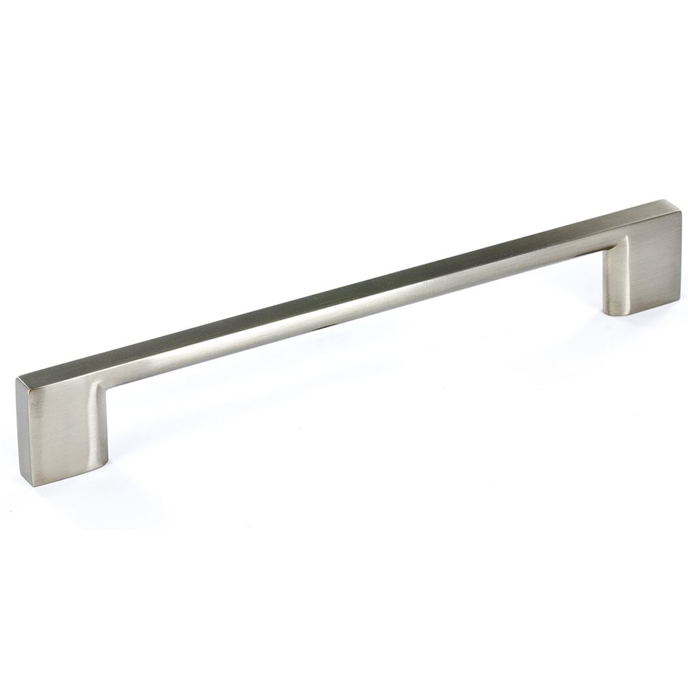 Contemporary metal pull brushed nickel 160 mm c to c bp8160160195 canada discount - Contemporary cabinet pulls ...