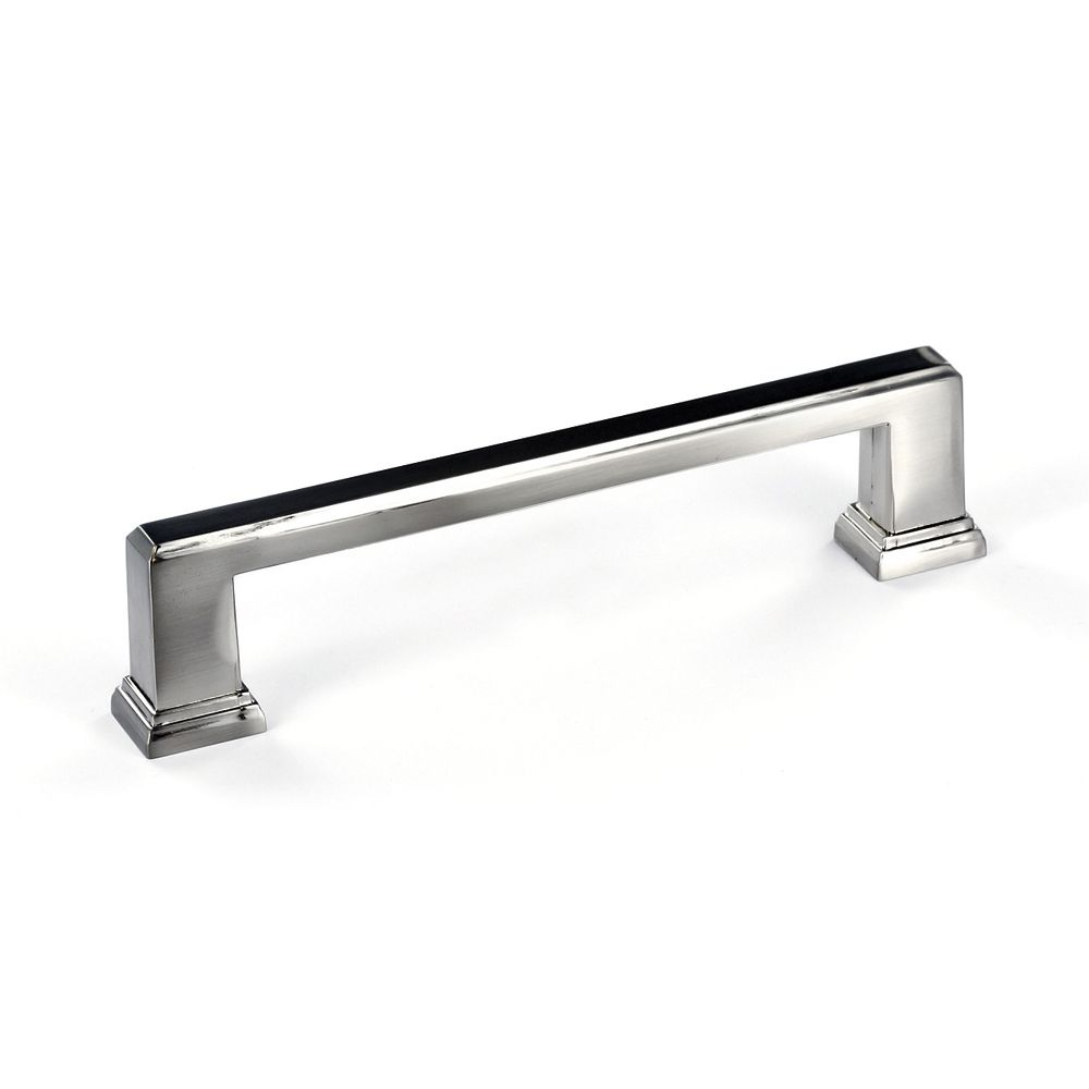 Transitional Metal Pull - Brushed Nickel - 128 Mm C. To C.