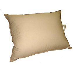 Royal Elite Feather Pillow, Taupe, Standard