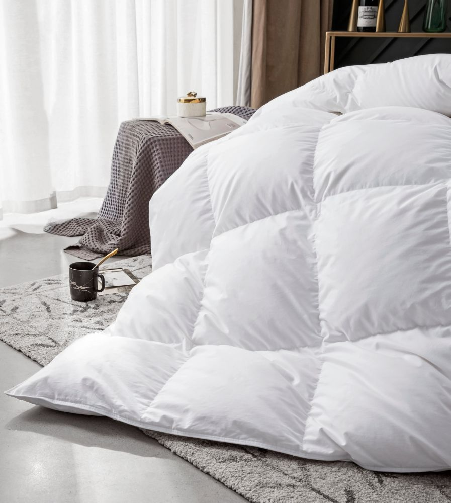 260T European Down Duvet, Winter, Double35