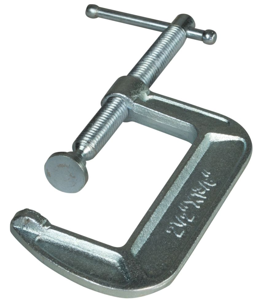 1-1/2  Inch Drop Forged C-Clamp with 1-1/2  Inch Throat Depth