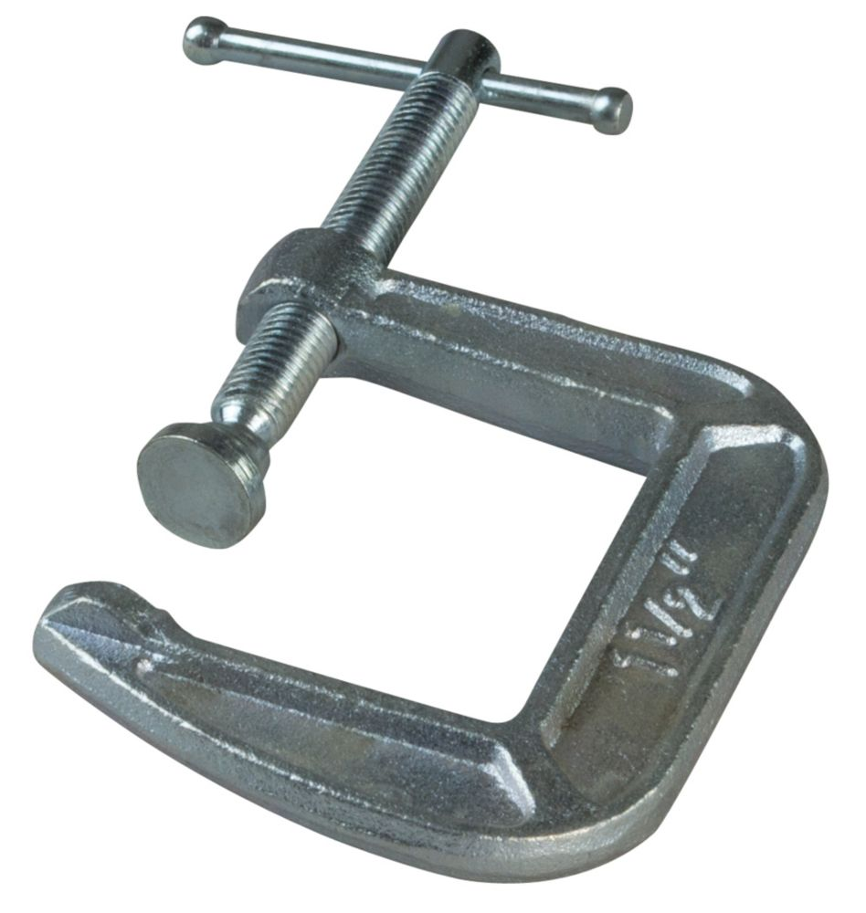 3  Inch Drop Forged C-Clamp with 4-1/2  Inch Throat Depth