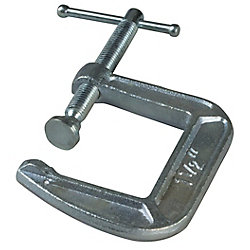 BESSEY 3  Inch Drop Forged C-Clamp with 4-1/2  Inch Throat Depth