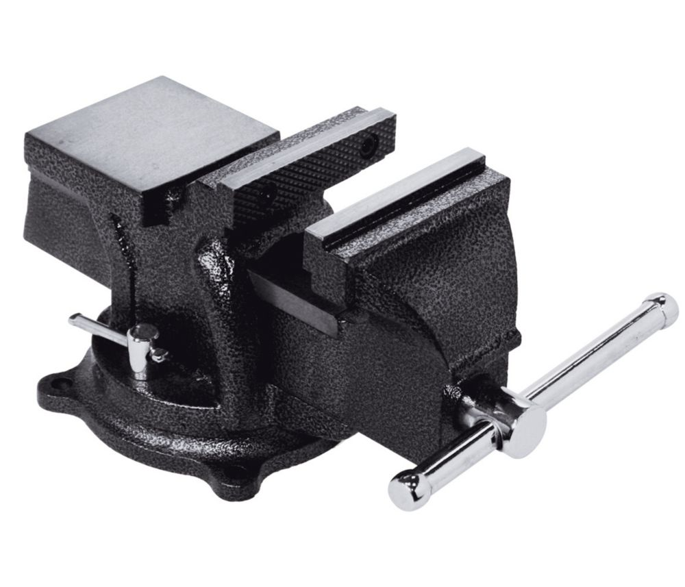 4  Inch Heavy Duty Bench Vise with Swivel Base