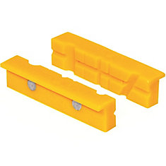 Non-marring Vise Jaw Accessory for Use on Vises with Jaws from 3 Inch to 6 Inch Wide