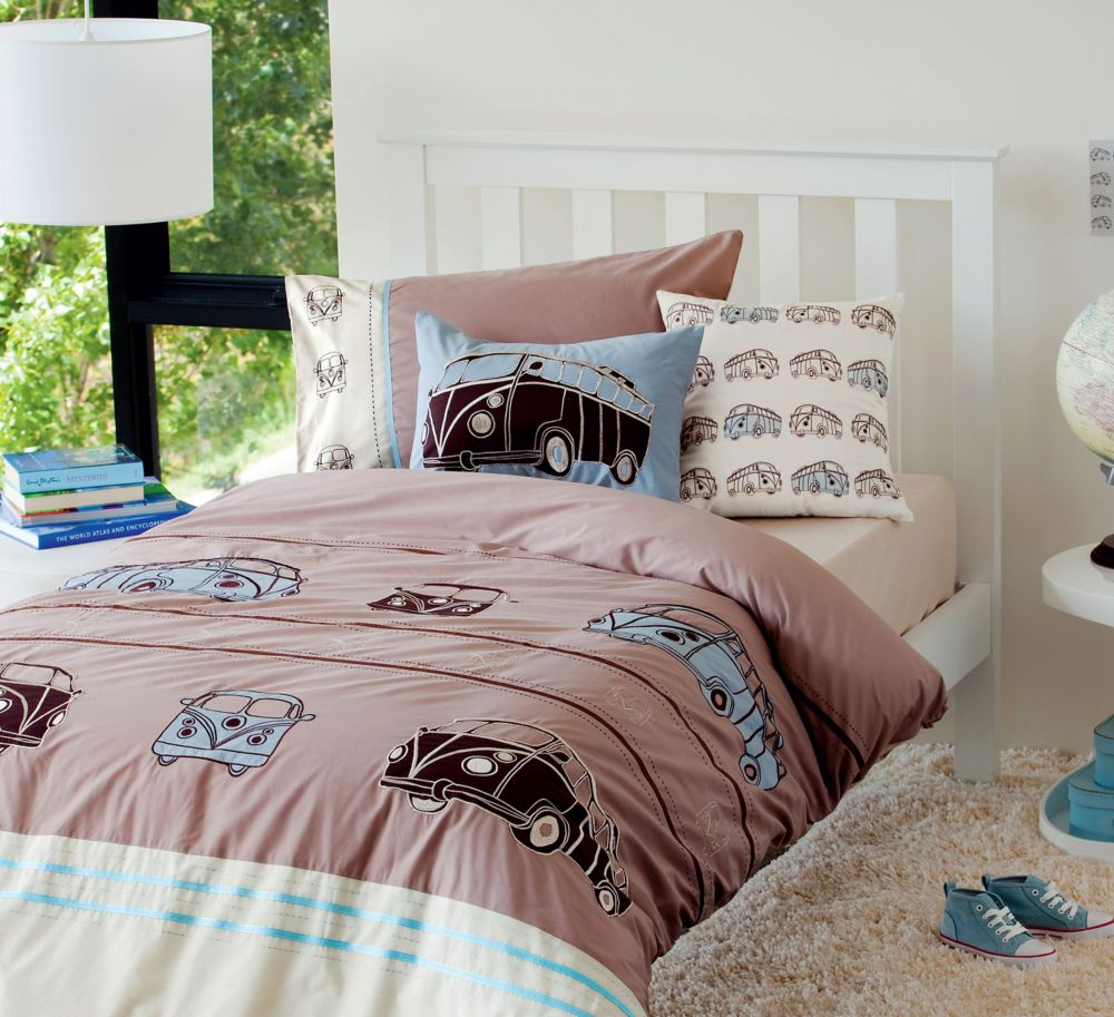 Combi Vans Duvet Cover Set, Twin MK-001BDCST in Canada