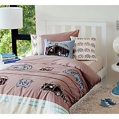 Combi Vans Duvet Cover Set, Twin