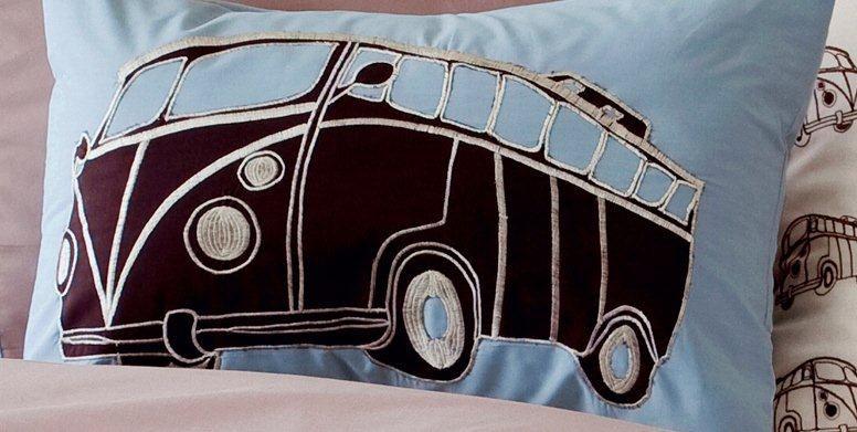 Maholi KIDS Combi Vans Breakfast Cushion