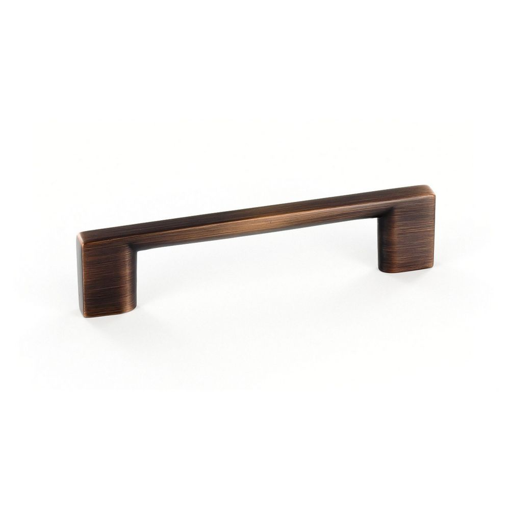 Contemporary Metal Pull 3 3/4 in (96 mm) CtoC - Brushed Oil-Rubbed Bronze  - Armadale Collection