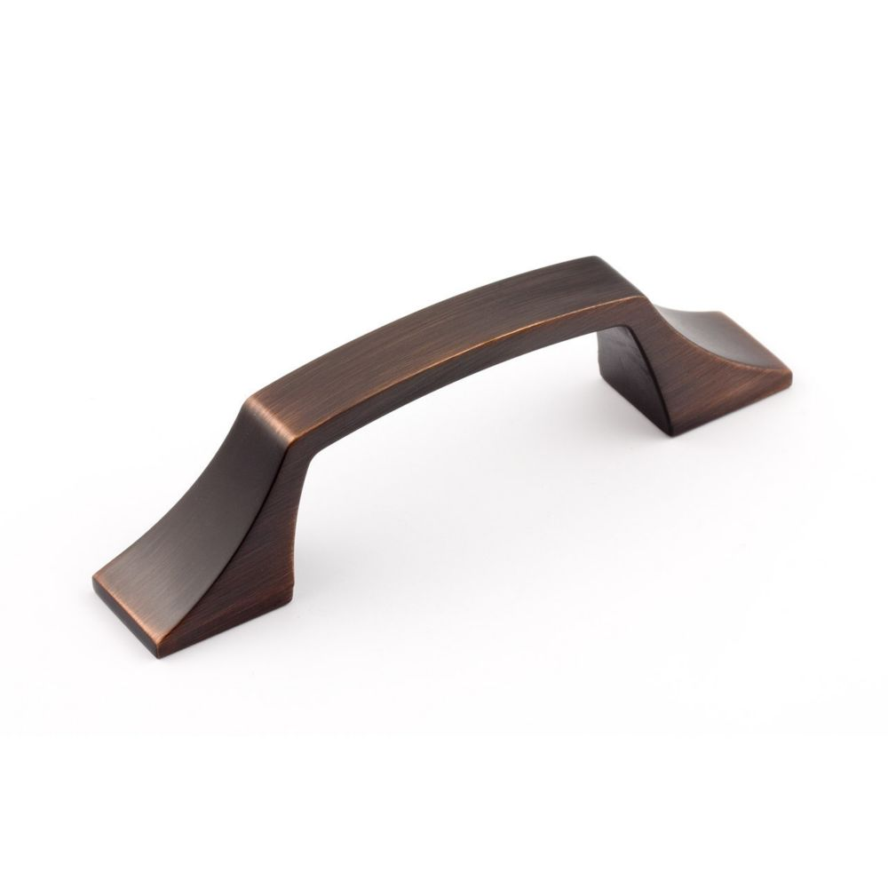 Transitional Metal Pull - Brushed Oil-Rubbed Bronze - 96 Mm C. To C.