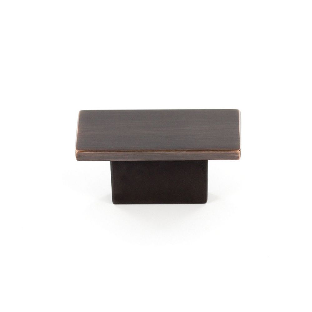 Contemporary Metal Knob - Brushed Oil-Rubbed Bronze - 16 Mm Dia. BP8102116BORB Canada Discount