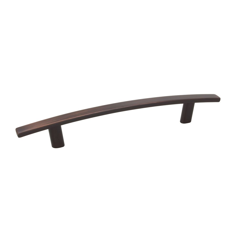 Contemporary Metal Pull - Brushed Oil-Rubbed Bronze - 128 Mm C. To C.