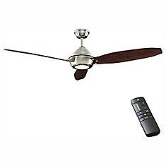 Ventilateur de plafond d'extérieur Aero Breeze, à trois pales, 60po, avec DEL et télécommande