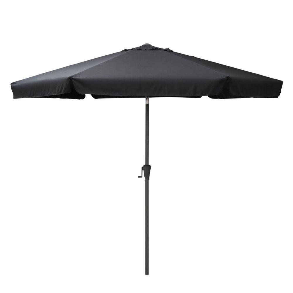 Nice Tilting Patio Umbrella In Black