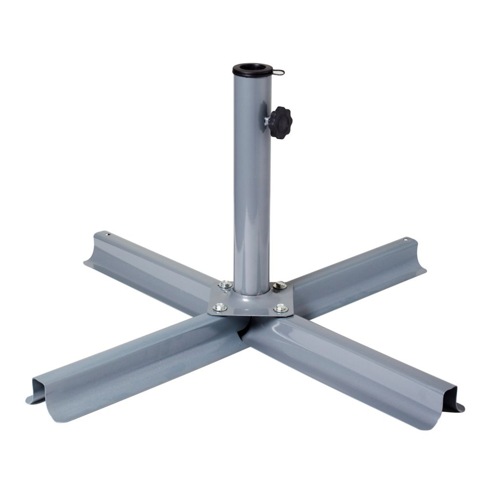 Grey Patio Umbrella Stand