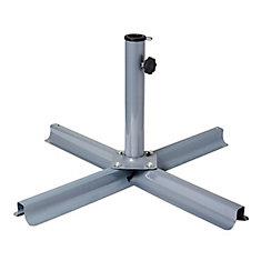 Patio Umbrella Stand in Grey