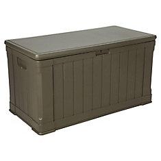 50-inch x 25-inch x 26-inch 4 cu. ft. Polyethylene Deck Box