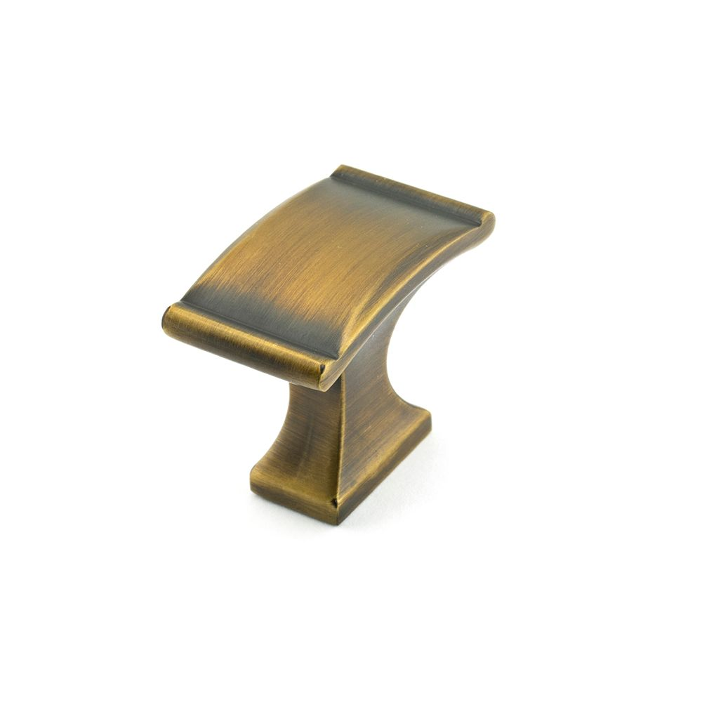 Richelieu Traditional Metal Knob  Chocolate Bronze - Teramo Collection